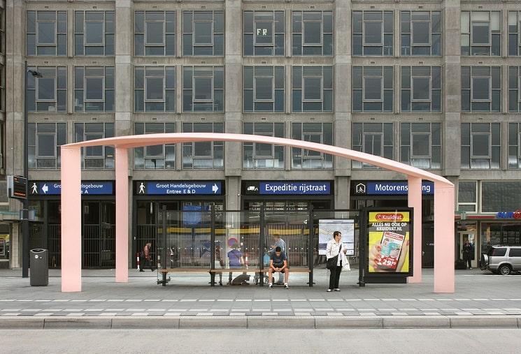 ایستگاه اتوبوس سایبان 5