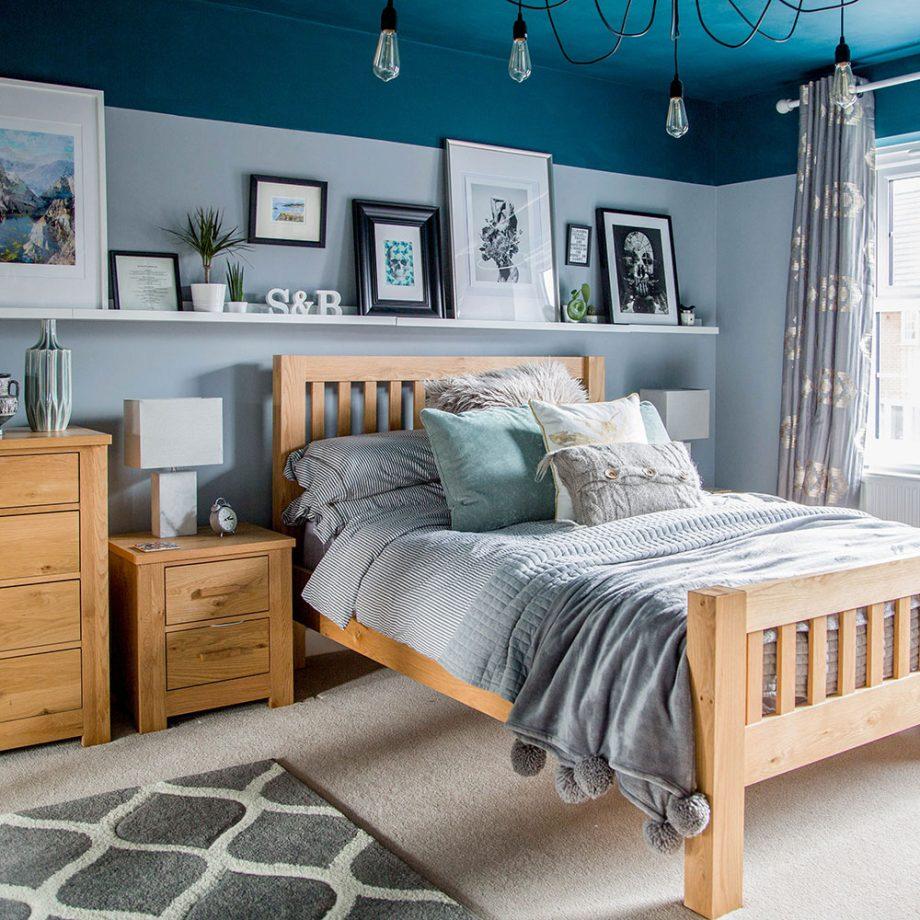 اتاق خواب آبی