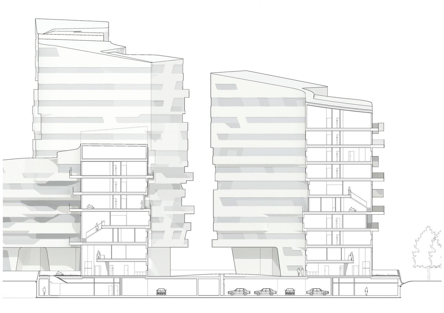 پلان آپارتمان های زندگی شهری-3