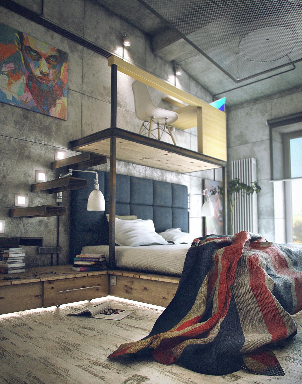 اتاق خواب جالب 11