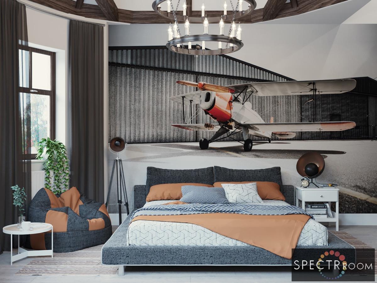 اتاق خواب جالب 14