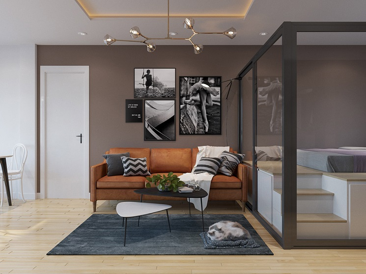 اتاق خواب شیشه ای 17
