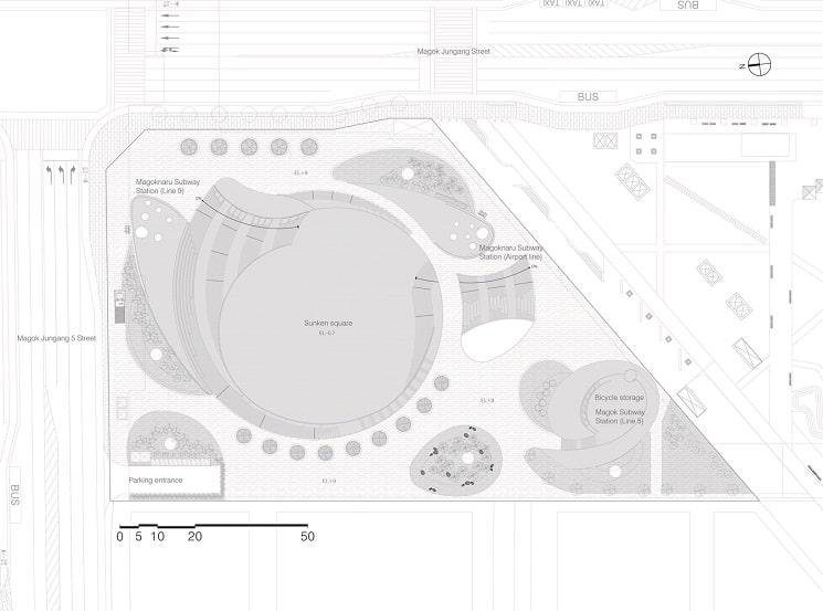 طراحی پلان پارکینگ
