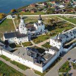 کلیسای جامع فرضیه و صومعه شهر-جزیره سوویژسک (روسیه)