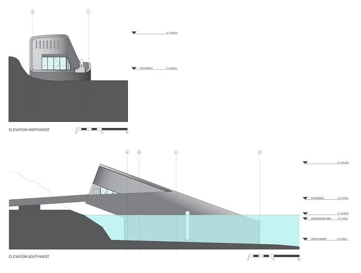 پلان رستورانی زیر دریا در نروژ