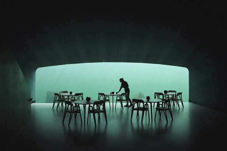 رستورانی زیر دریا در نروژ5