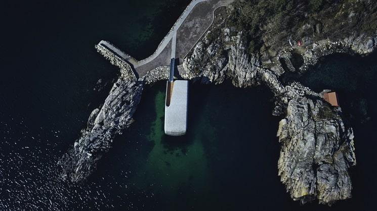 رستورانی زیر دریا در نروژ21