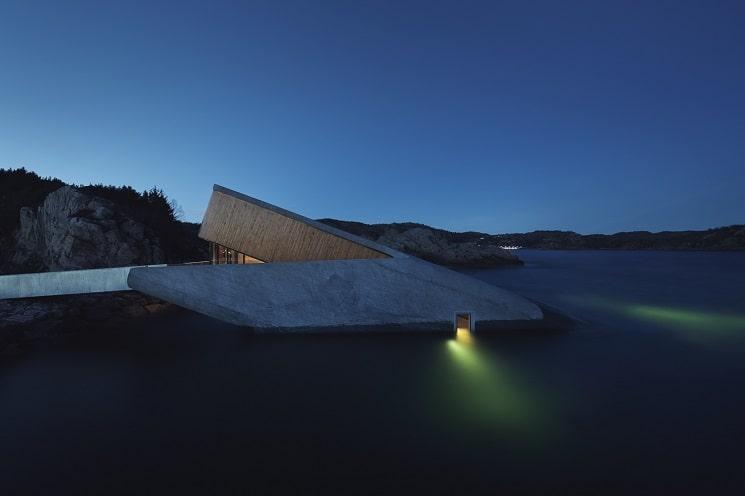 رستورانی زیر دریا در نروژ17