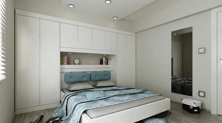 واحدهای کابینت کنار تختخواب