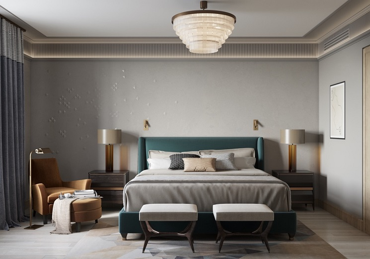 اتاق خواب مدرن 7