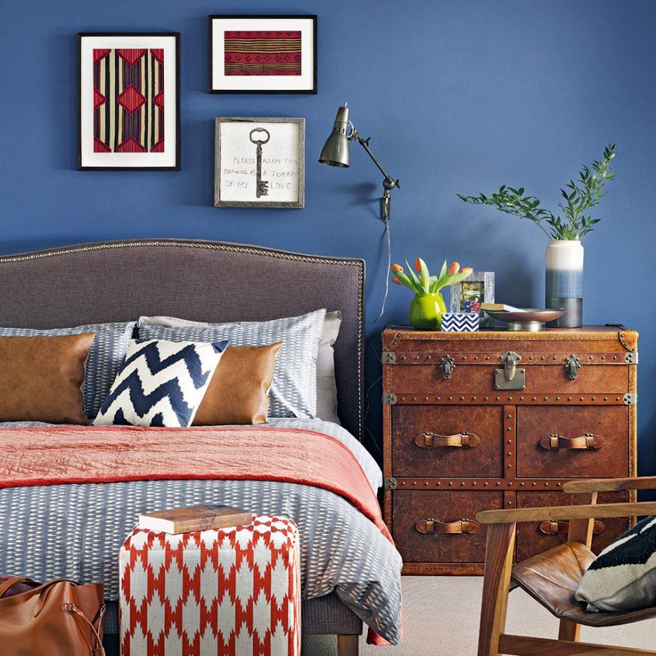 اتاق خواب آبی 8