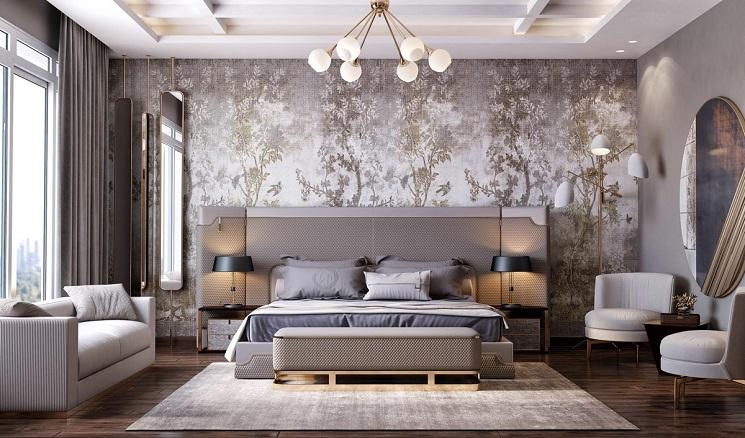 اتاق خواب مدرن 9