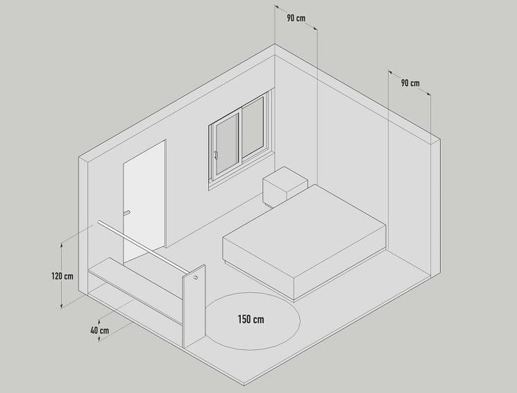 اصول و استاندارد های طراحی خانه-اتاق