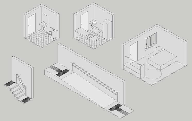 اصول و استاندارد های طراحی خانه