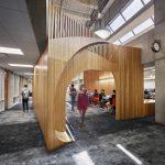 بازسازی کتابخانه دانشگاه سورن