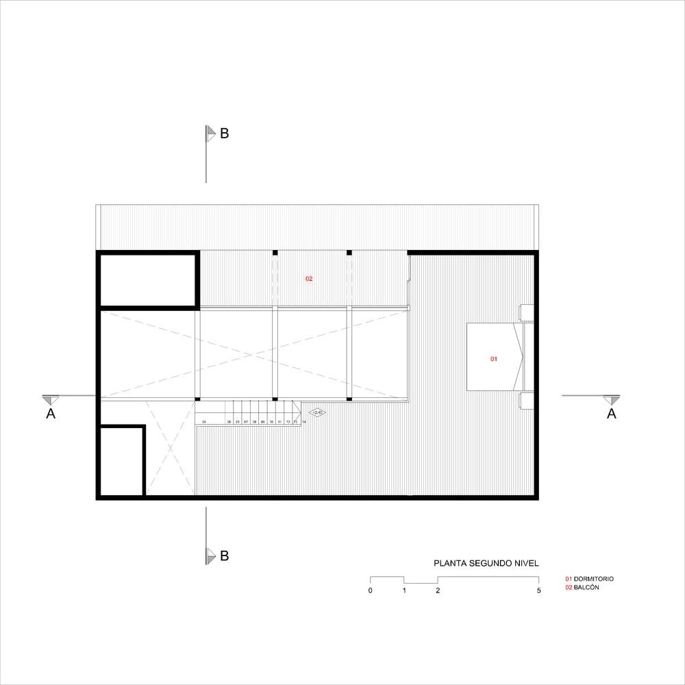 طراحی پلان کلبه جنگلی -6