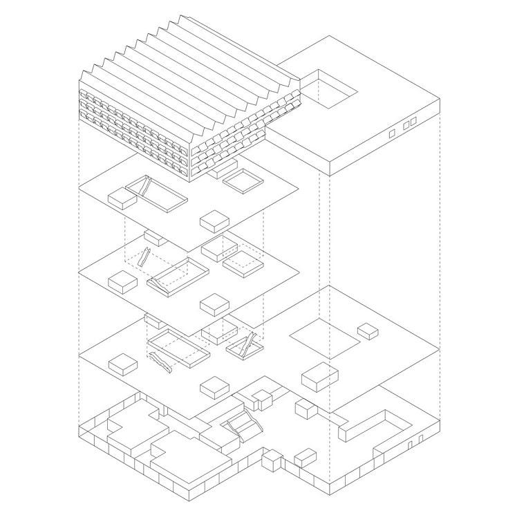 پلان ساختمان های اداری شرکتIKEA 1