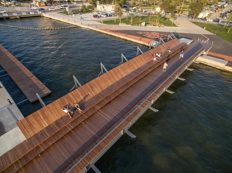 پل پیاده روی Bostanlı در ترکیه-2