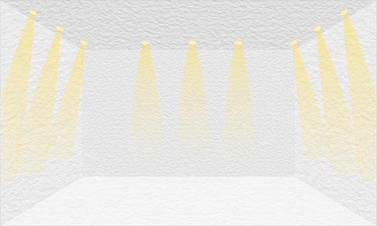 نورپردازی سقفی هالوژن