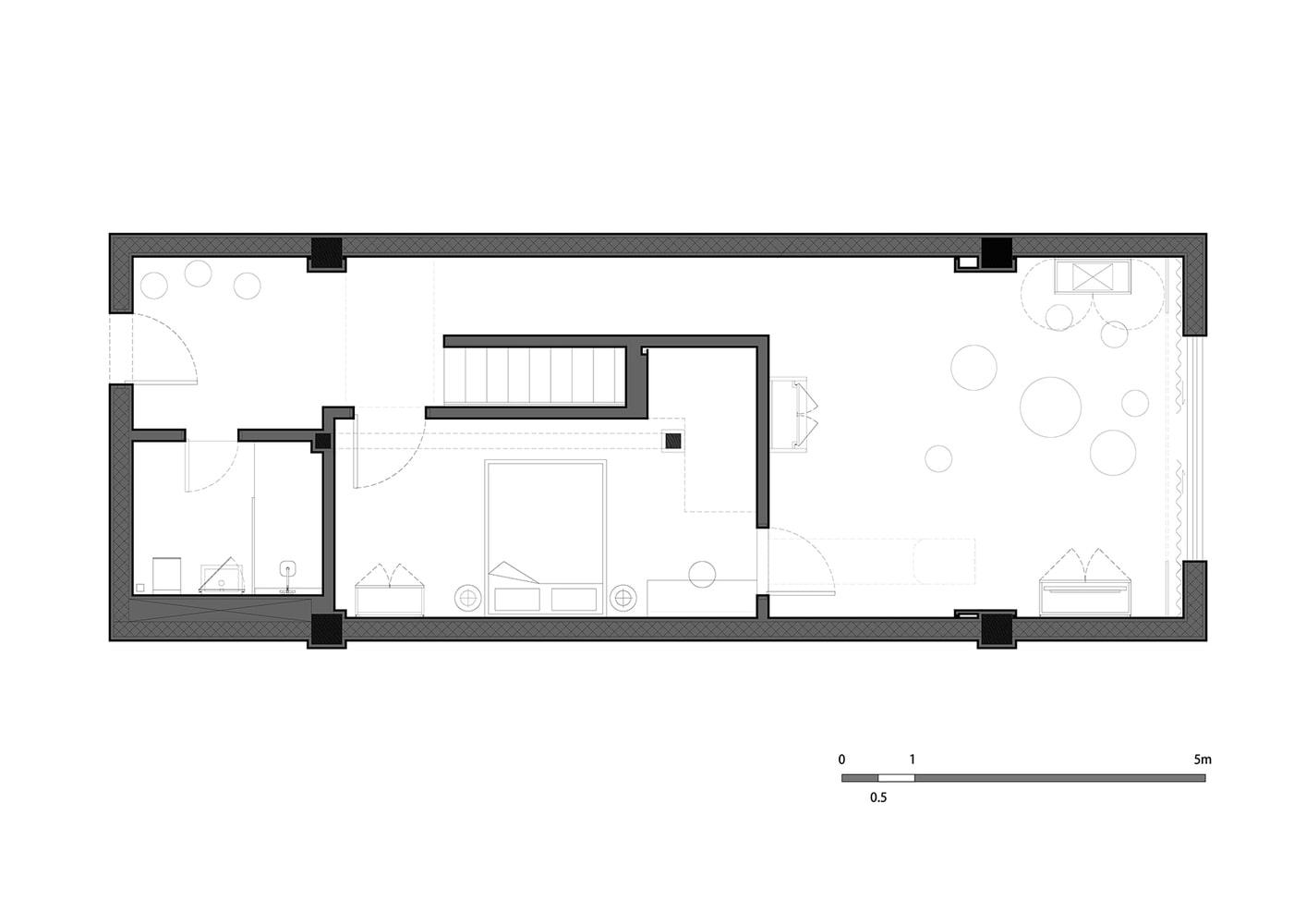طراحی پلان هتل با فضاهایی مرموز