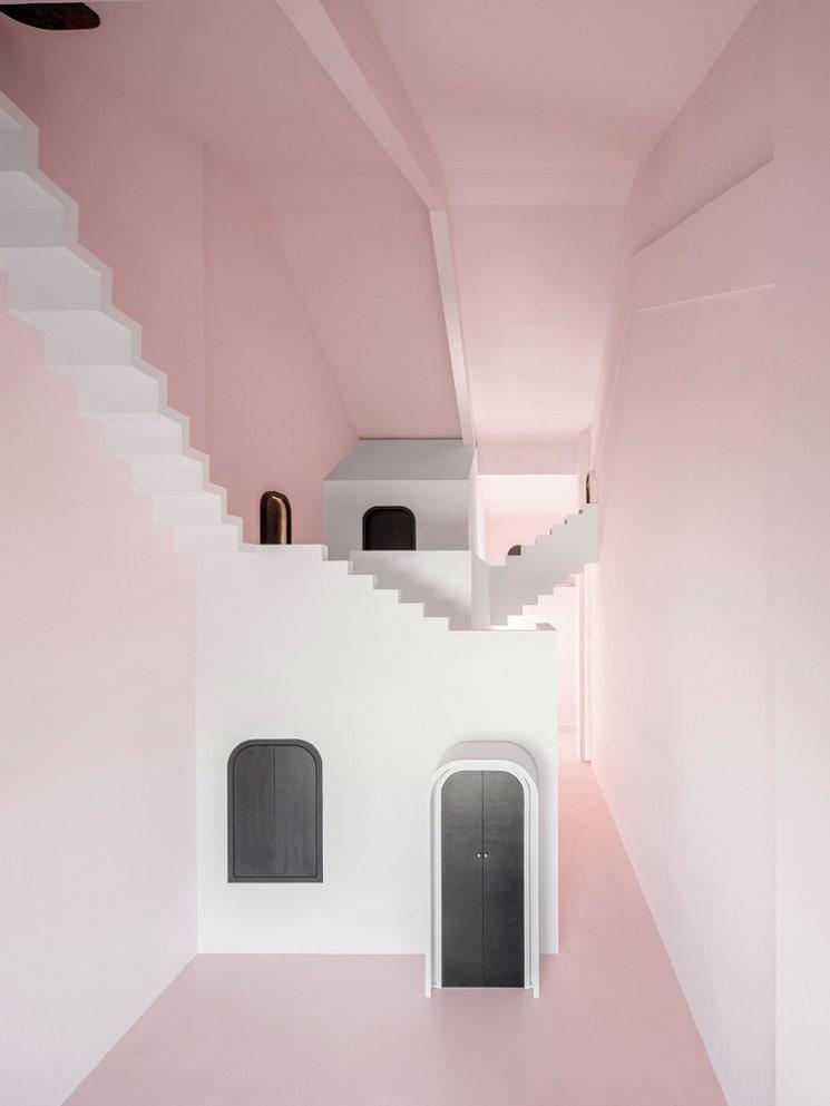 طراحی هتل با فضاهایی مرموز4