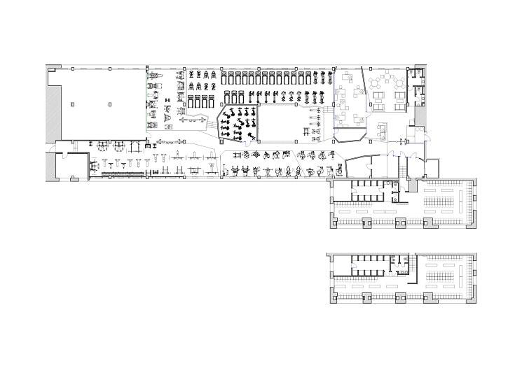 طراحی پلان باشگاه بدنسازی ثنا1