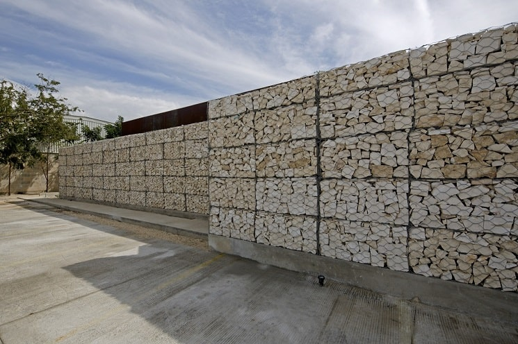 دیوارهای توری گابیون-14