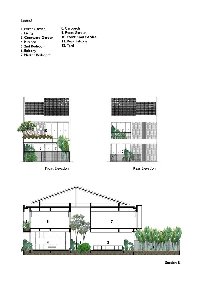 پلان بازسازی تراس خانه