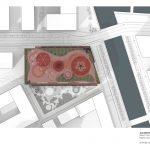 طراحی پلان فضای سبزدرپشت بام ساختمان11
