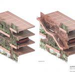 طراحی پلان فضای سبزدرپشت بام ساختمان8