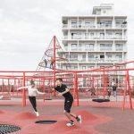 طراحی جالب فضای سبزدرپشت بام ساختمان11