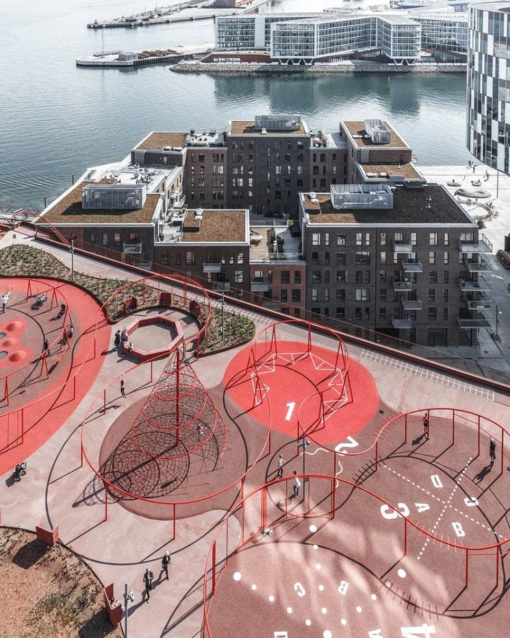 طراحی جالب فضای سبزدرپشت بام ساختمان17