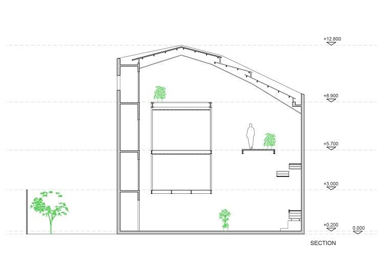 طراحی پلان خانه بودایی-4