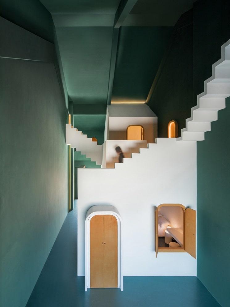 طراحی هتل با فضاهایی مرموز5