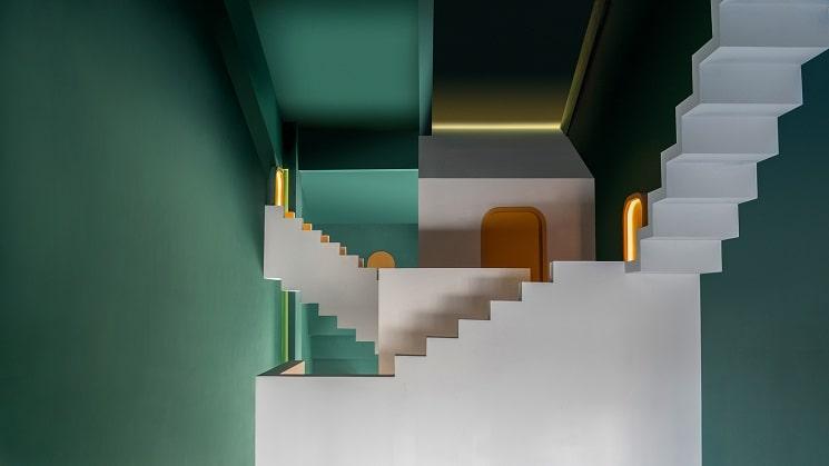 طراحی هتل با فضاهایی مرموز10