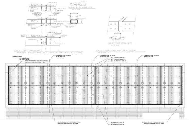 پلان نمای هنری ساختمان پارکینگ