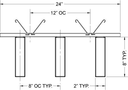 سقف های معلق (باز) 7