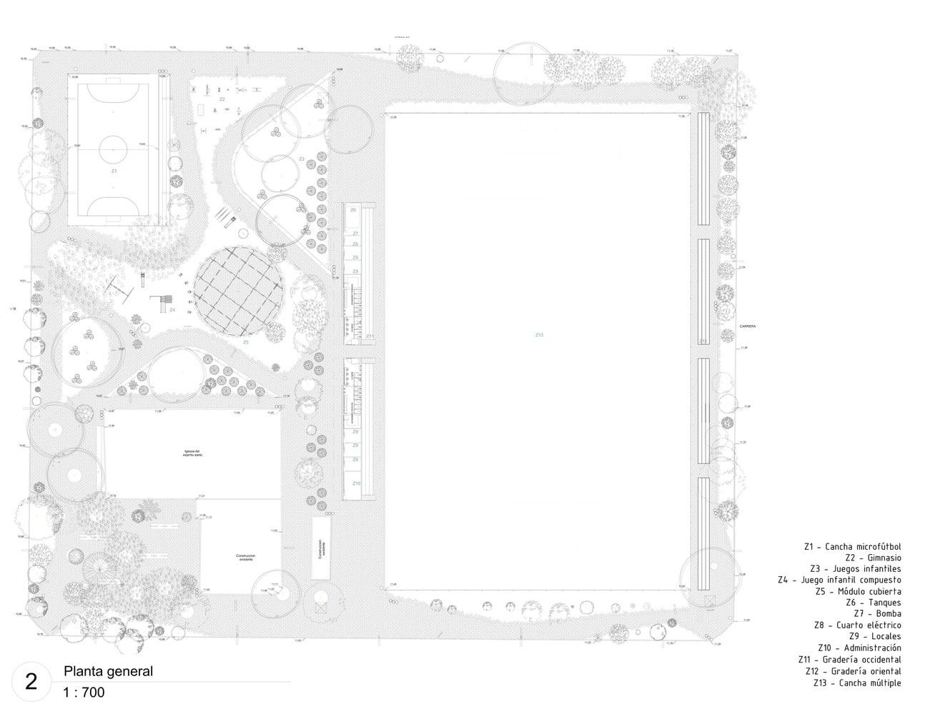 طراحی پلان پارک چند منظوره3
