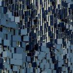 نمای هنری ساختمان پارکینگ6