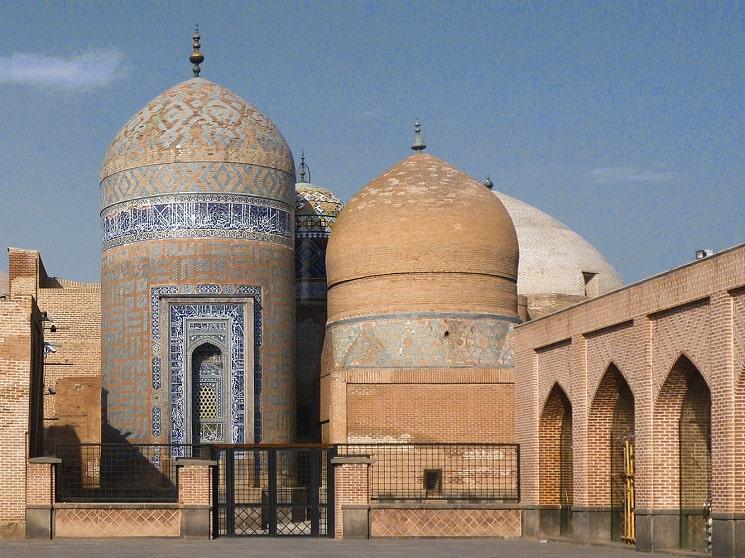 حرم شیخ صفی الدین در اردبیل (ایران)