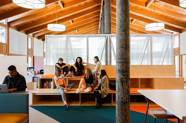 طراحی کتابخانه مدرسه استیونسون1
