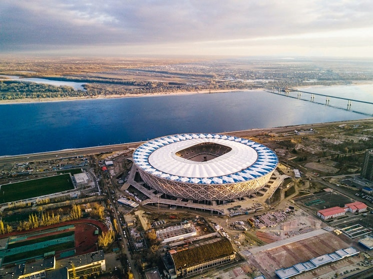 استادیوم فوتبال ولگاگراد-آرنا روسیه8