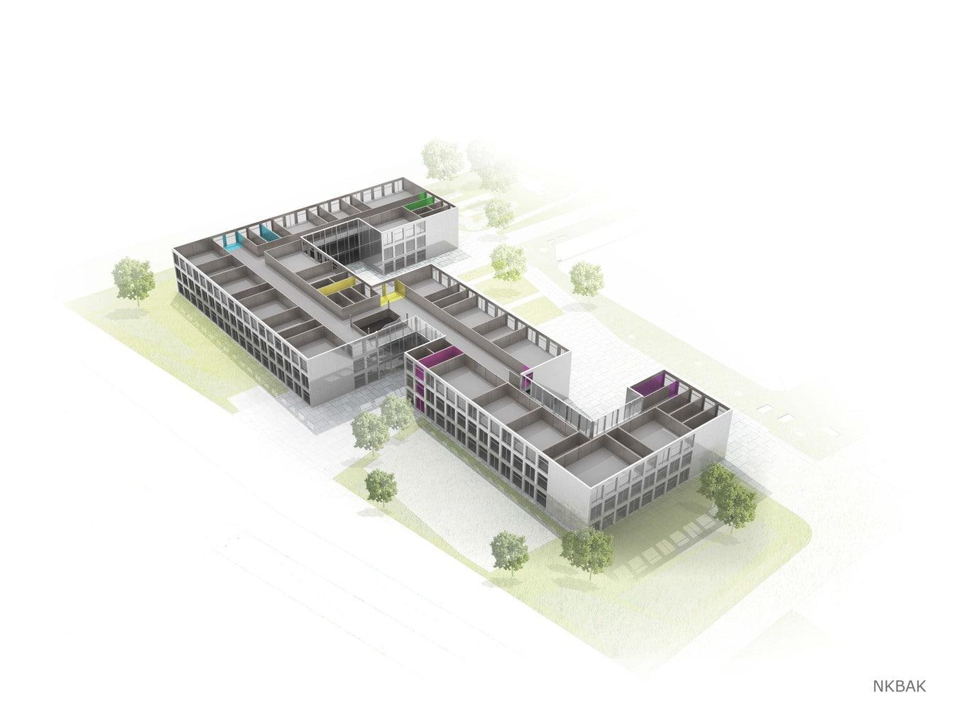 پلان مدرسه متوسطه یکپارچه برلین12