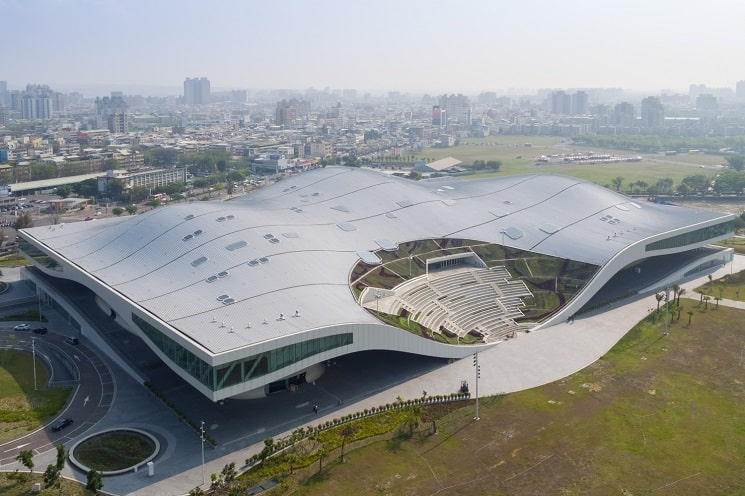 مرکز ملی هنر Kaohsiung-8