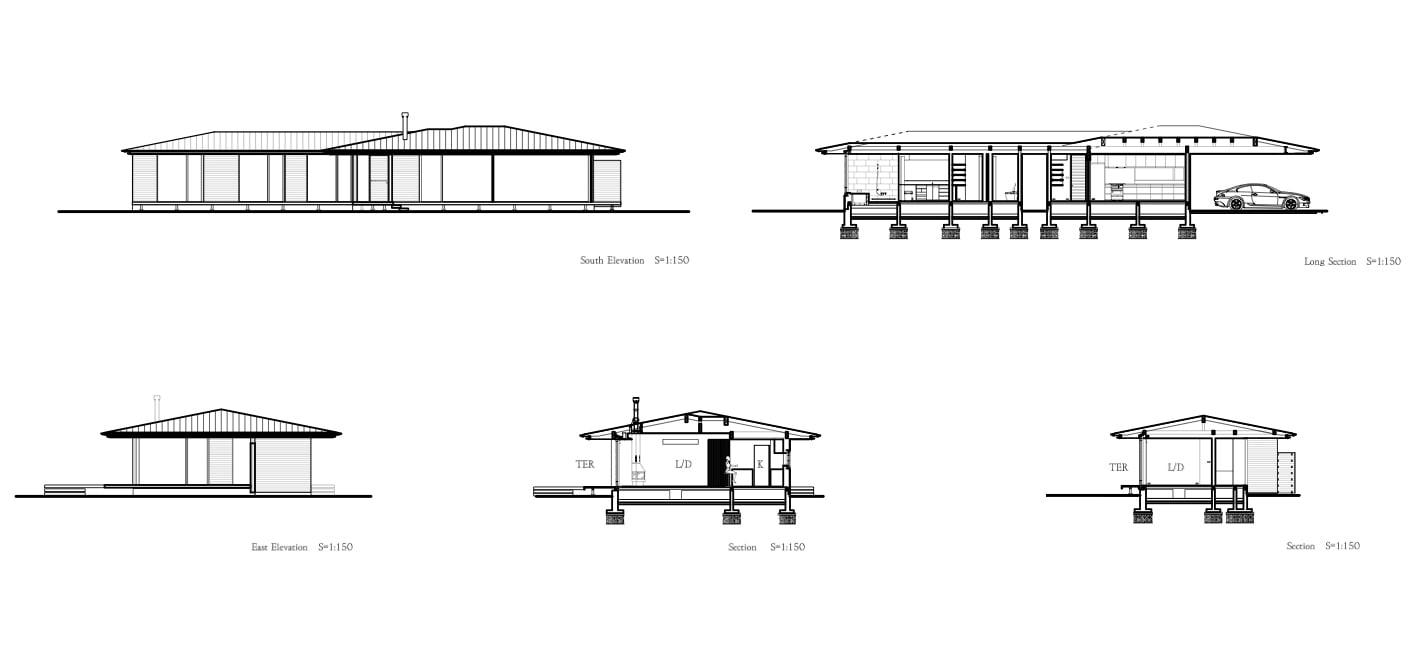 پلان ویلا جنگلی-1