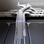 ترمینال جدید راه آهن ریلی بالتیک در الیمیست ، تالین