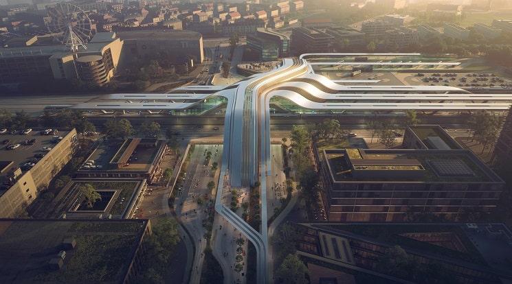 ترمینال جدید راه آهن ریلی بالتیک در الیمیست ، تالین8