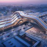 برندگان مسابقه ای طراحی ترمینال جدید راه آهن ریلی بالتیک در الیمیست ، تالین