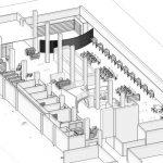 پلان کتابخانه دانشگاه سورن 3