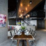 طراحی خانه دوبلکس-غذا خوری-1